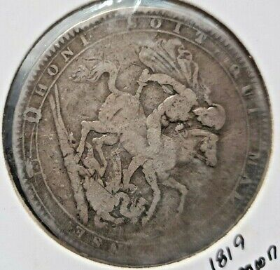Great Britain 1819 Crown. Good/Fine.