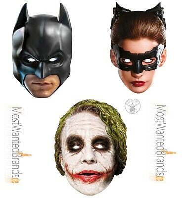 atman, Catwoman, The Joker * Maske aus Pappe * (Catwoman Maske)