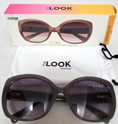 The Look Eyewear Premium Bifocal SunReader Sun Worshipper +1.50 Reading (The Look Eyewear Reading Glasses)