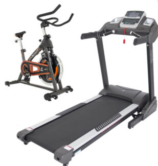 StarTrak ST37a.1 Treadmill now with SPIN BIKE FREE