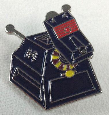 K9 DOCTOR WHO BBC Classic & New TV Series - UK Imported Enamel K-9 Lapel Pin