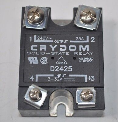 Gilbarcogasboy C05687 Crydom Relay Series 1000 - Spst - 240v 25a Output
