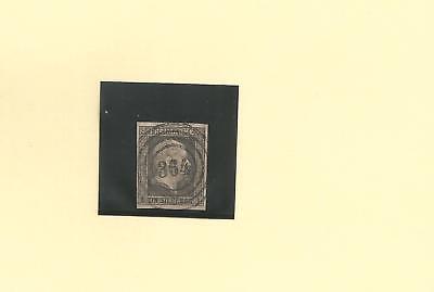 Pr. - Nr.-o / 364 Eckenhagen, Traumabschlag  auf 2a, Luxus signiert Kastaun