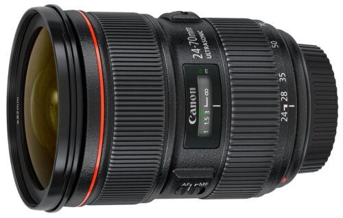 Canon EF 24-70mm f/2.8L II USM Standard Zoom Lens Black 5175B002