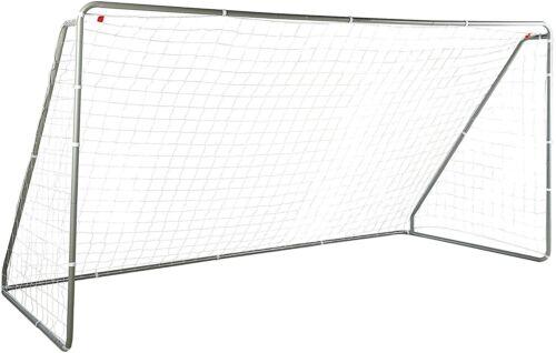 Soccer Goal Football Net Practice Backyard Steel Transportable Foldable 12 x 6