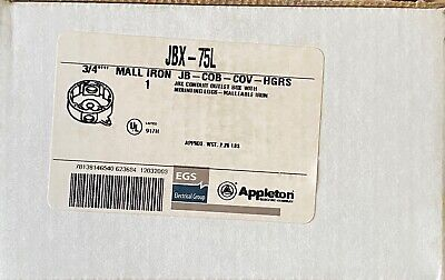 Appleton Jbx-75l Conduit Outlet Box