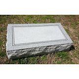 "Granite Headstone Bevel  ( L20"" x W10"" x H6"" )"