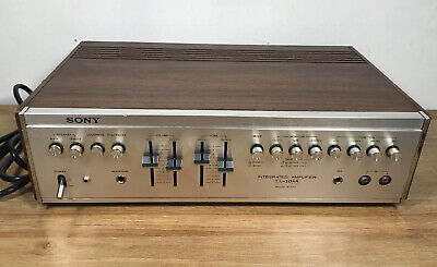 Vintage SONY TA-1055 Stereo Integrated Amplifier HiFi Solid State Tested GWC