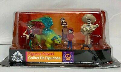 Disney Parks Store Pixar Coco Collectible Figure Playset 6 Piece Read Descriptio
