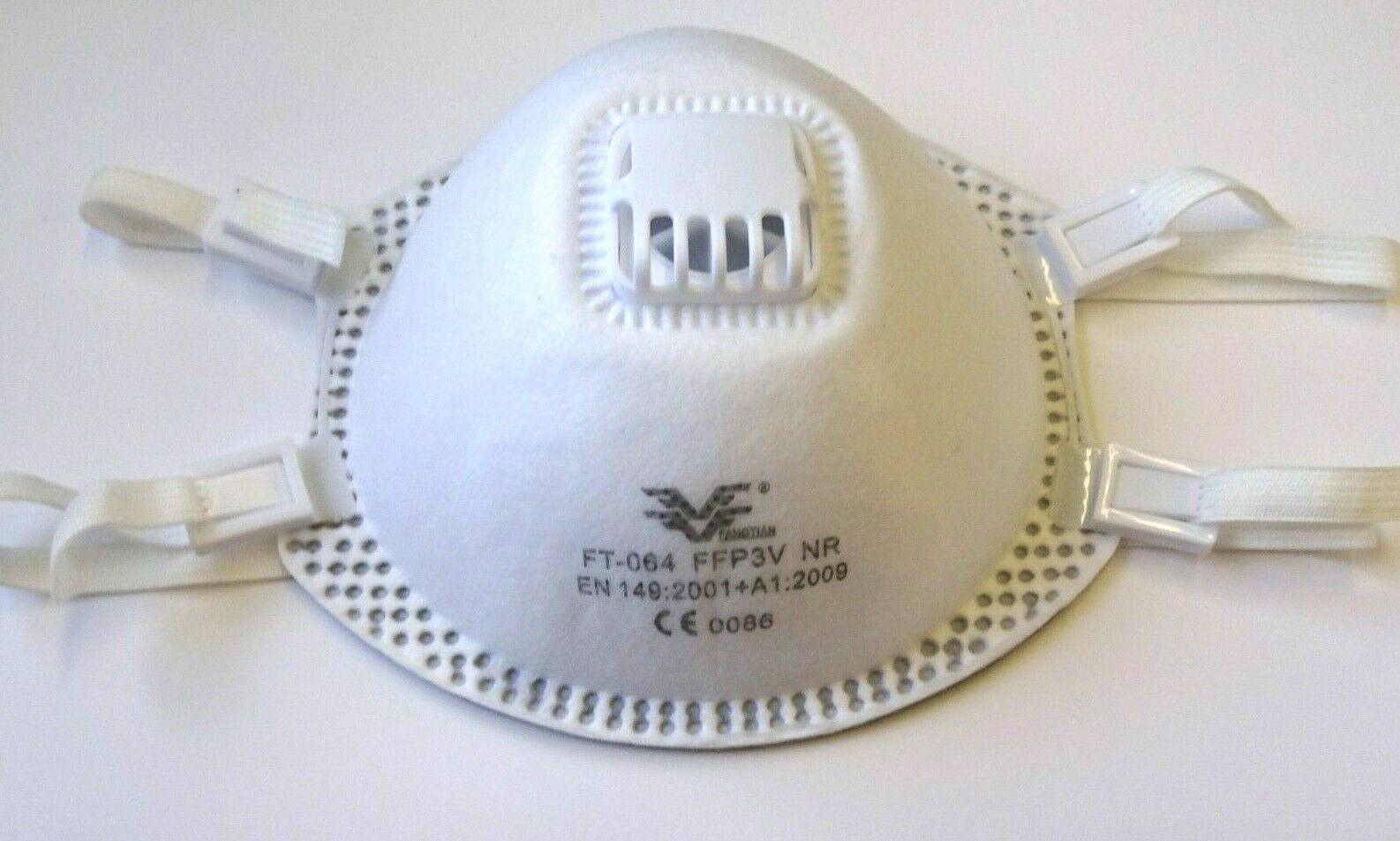FFP3 Atemschutzmaske mit Ventil Maske Schutzmaske Mundschutz Schutzklasse FFP3