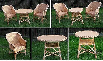 Ensemble de meubles de jardin chaises Table patio extérieur Conservation osier