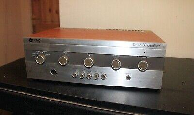 Leak Delta 30 Vintage Stereo Integrated Amplifier Hi-Fi separate amp