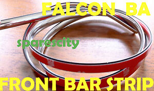 FALCON-BA-FALCON-FAIRMONT-FRONT-BUMPER-BAR-CHROME-STRIP-MOULD-LHF-NEW