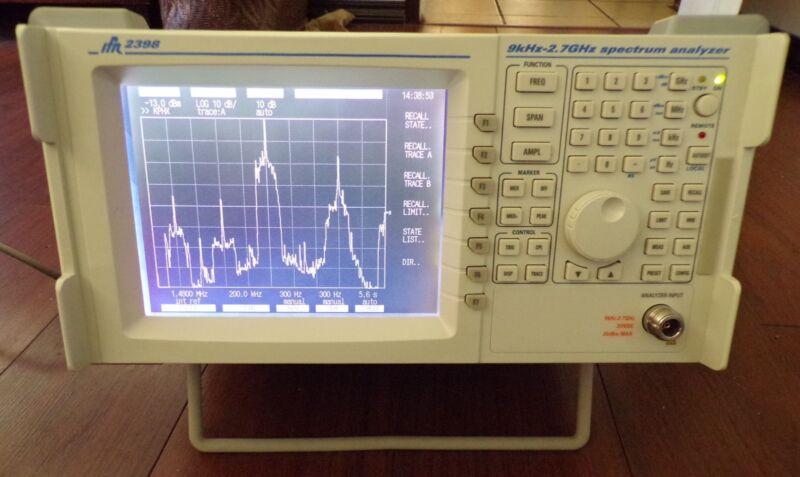 IFR 2398 Spectrum Analyzer 9 kHz to 2.7 GHz