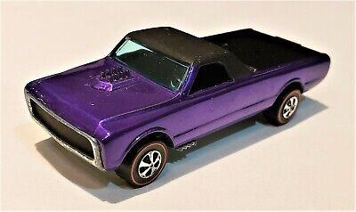 Hot Wheels REDLINE 1968 PURPLE CUSTOM FLEETSIDE NEAR MINT CONDITION! BEAUTIFUL!