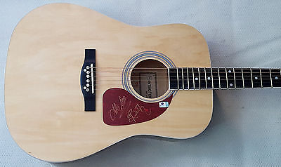 R and BETH On The Hunt Signed New Guitar Duane Chapman GAI (Beth Bounty Hunter)