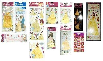 DISNEY BELLE Beauty & the Beast Princess Rose Dancing Jewels Stickers U PICK