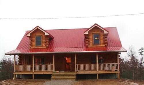 Rocky Fork II Log Cabin Home Kit