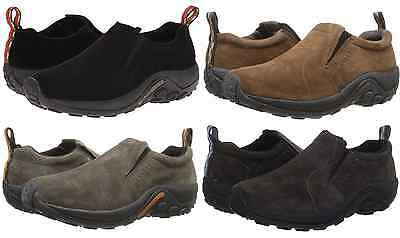 Merrell Jungle Moc Mens Casual Suede Leather Slip On Shoes Sizes 8 15  M   W