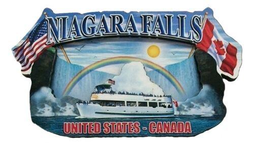 Niagara Falls Montage Artwood Fridge Magnet