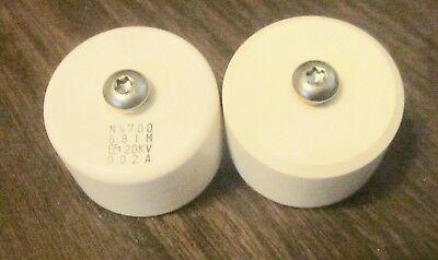 Murata 880pf 20kv Door Knob Capacitor Lot 2 Each Marked N4700 881 M Cm 20kv