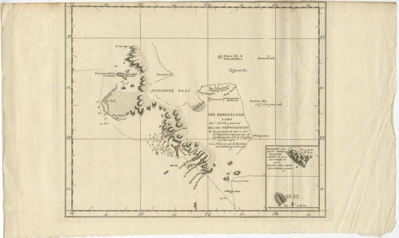Van Kerguelens Land (..) - Cook (1803)