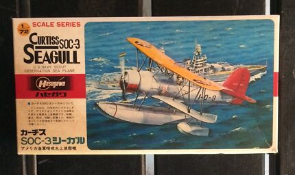 Hasegawa Curtiss SOC-3 Seagull 1/72 Model Kit