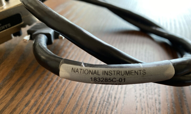 National Instruments 183285C-01 GPIB Cable