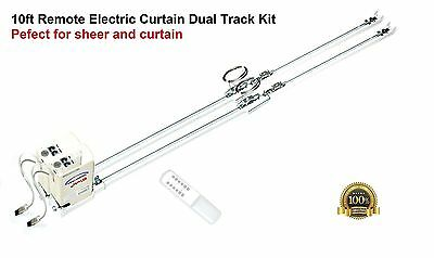 10ft Remote Control Motorized Electric Dual Track Kit