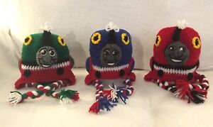 Crochet Thomas the Train and friends hats