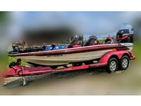 2001 Ranger Bass Boat