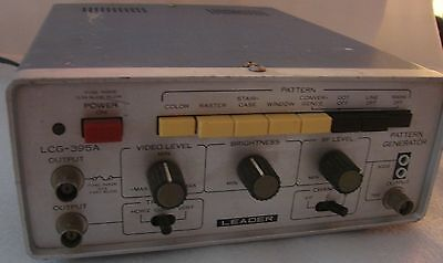 Leader Lcg-395a Universal Video Color Signal Generator