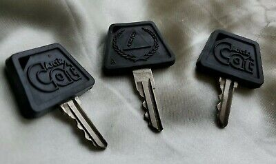Vintage Arctic Cat Snowmobile Keys Letter A (USED) Lot of 3