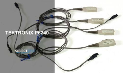 TEKTRONIX P6240 ACTIVE 800 MHz FET PROBE LOT OF 4 UNITS !!!! **LOOK** (REF.: G)