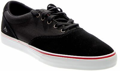 Emerica Provost Slim Vulc Skate Shoes - Black - Mens ()