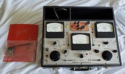 Vintage Rare Triplett Transistor Analyzer Tester Scr Model 3490-a Type 2