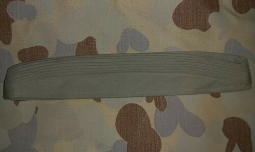 KHAKI PUGAREE FOR AN AUSTRALIAN ARMY SLOUCH HAT - GENUINE ISSUE 7 FOLD