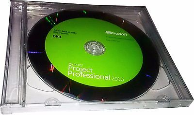 Microsoft Project Professional 2010  32 X64  Edition Dvd Key W Hologram