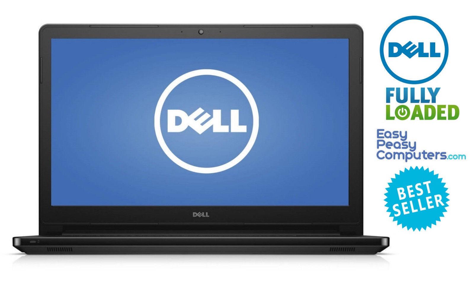 "Dell Laptop Touchscreen 15.6"" WIN10 8GB 1TB Bluetooth WiFi W"