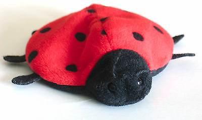 TY Original Beanie Babies 1993 LUCKY Ladybug Plush FREE SH