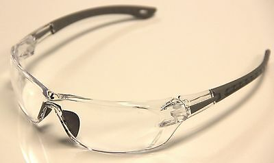 Auras Safety Shooting Glasses Clear Lenses S1800 - 4 Pairs - Free Shipping