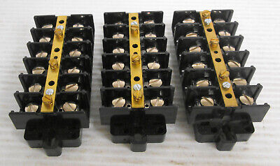 3 Magnum 6 Position Terminal Block Strip