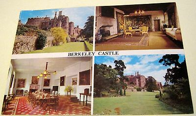 England Berkeley Castle Multi-view Q6S Harvey Barton - unposted