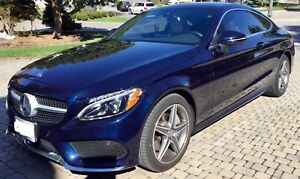 2017 Mercedes-Benz C300 Coupe lease takeover $617.56  $0 down