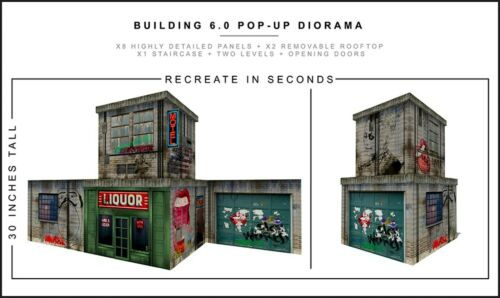 "Extreme-Sets Building 6.0 Pop-Up Diorama 1/12 Scale for 6""-7"" Action Figures"