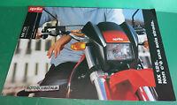 Aprilia Mx125 Moto Motard Pubblicita Brochure Depliant Pieghevole Catologue -  - ebay.it