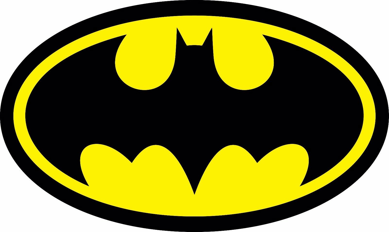 Home Decoration - Diecut Vinyl BATMAN LOGO Decal Sticker Comic Dark Knight Colored Buy2Get1Free
