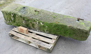Reclaimed gate post stone 1900 mm length - Yorkshire Dales Reclaim