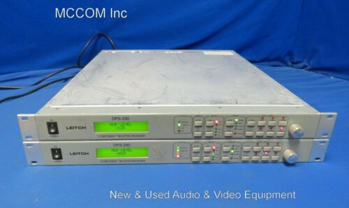 Leitch DPS-290 Component TBC/Synchronizer Qty 2 AS IS/ Parts