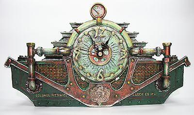 Steampunk Uhr Retrouhr Mechanik Fantasy Cosplay Gothic 770-3906